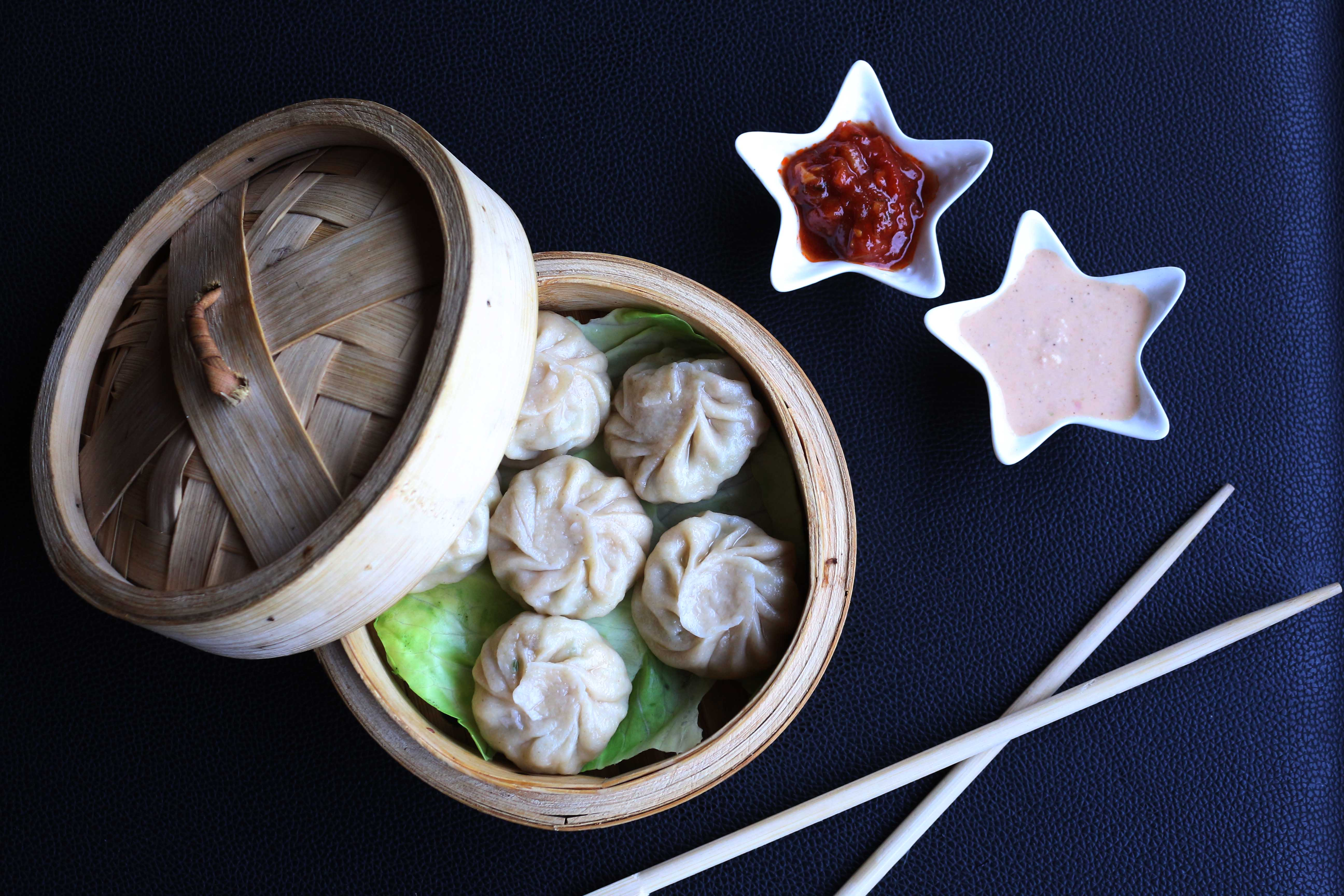 Whole Wheat Dimsums